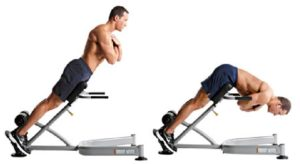 Back Extensions or Hyperextensions